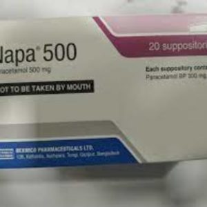 Napa 500 Suppository (10 pis)